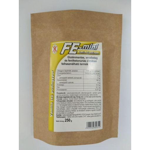 Fe-mini pudingpor - vanília ízű (250g)