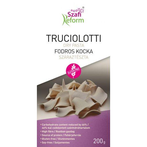 Szafi Reform Fodros kocka - truciolotti száraztészta gluténmentes (200g)