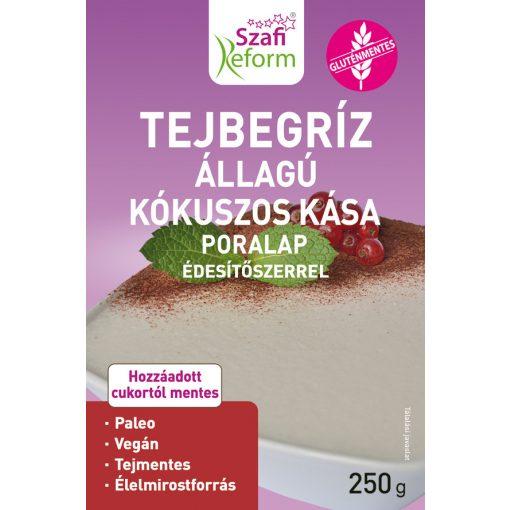 Szafi Reform tejbegríz állagú kókuszos kása poralap (250g)