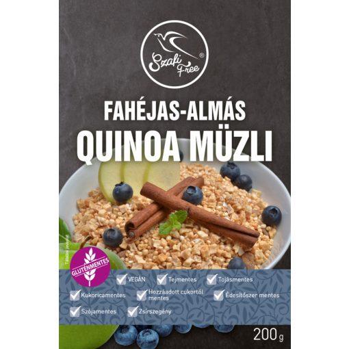 Szafi Free Fahéjas-almás quinoa müzli (200g)