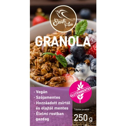 Szafi Free Granola gluténmentes (250g)