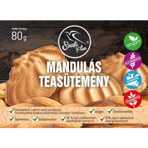 Szafi Free Mandulás teasütemény gluténmentes (80g)
