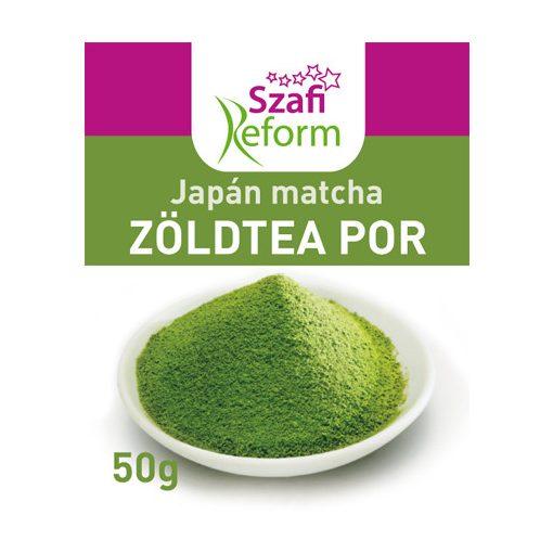 Szafi Reform Japán Matcha zöldteapor (50g)