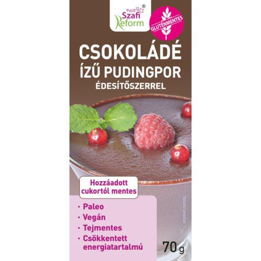 Szafi Reform Csokoládé ízű pudingpor (70g)