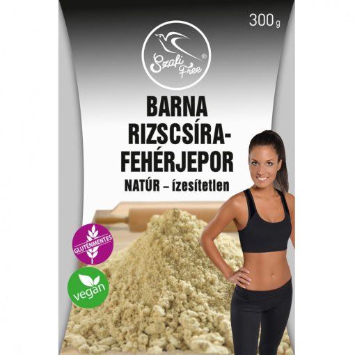 Szafi Free Barna rizscsíra-fehérjepor natúr- ízesítetlen gluténmentes, vegán (300g)