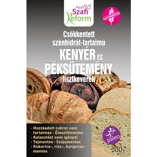 Szafi Reform GM CH-csökkentett kenyér és péksütemény lisztkeverék (500g)