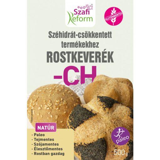 Szafi Reform Szénhidrát-csökkentett termékekhez rostkeverék (1000g) régi neve: Szénhidrát csökkentő lisztkeverék