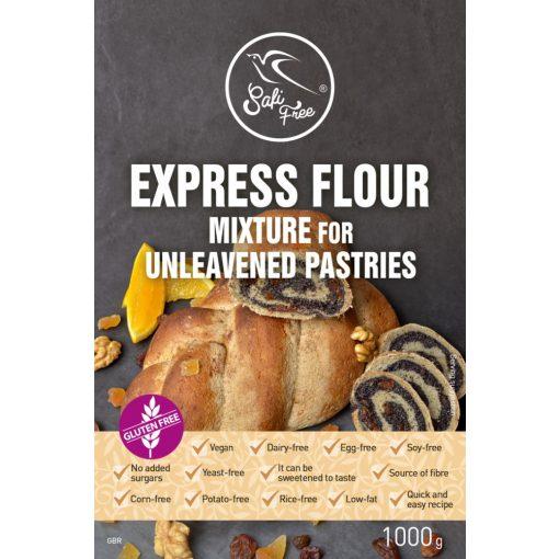 Szafi Free EXPRESSZ lisztkeverék kelesztés nélküli tésztákhoz (1000g)