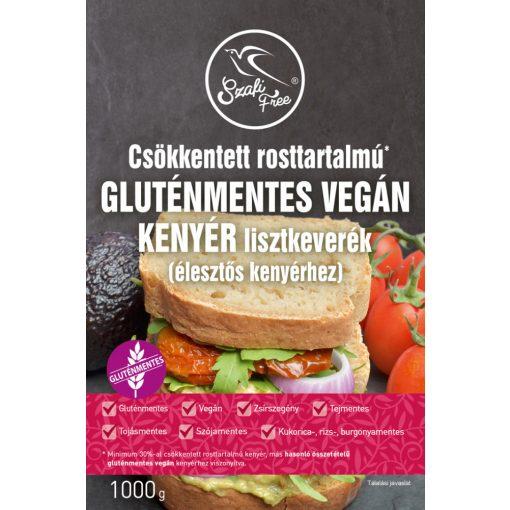 Szafi Free csökkentett rosttartalmú gluténmentes vegán kenyér lisztkeverék. (1000g)
