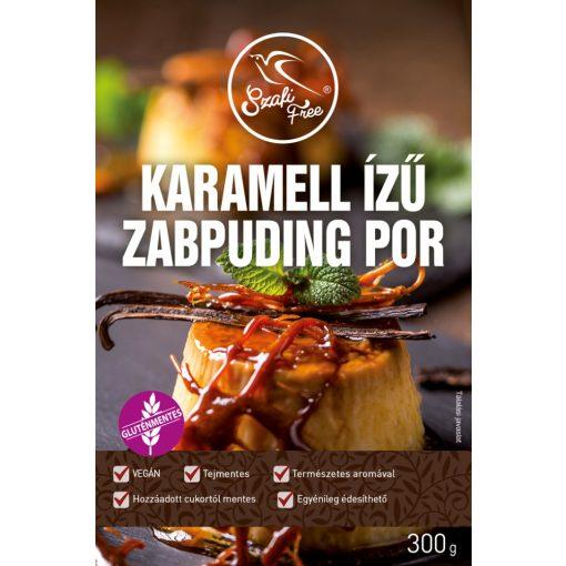 Szafi Free Karamell ízű zabpuding por gluténmentes (300g)