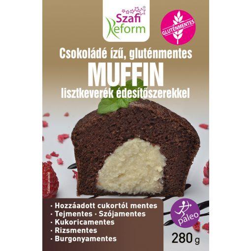 Szafi Reform Étcsokoládé ízű muffin keverék (280g)