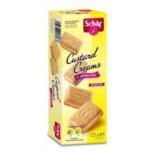 Schär Custard Creams - sodókrémmel töltött keksz