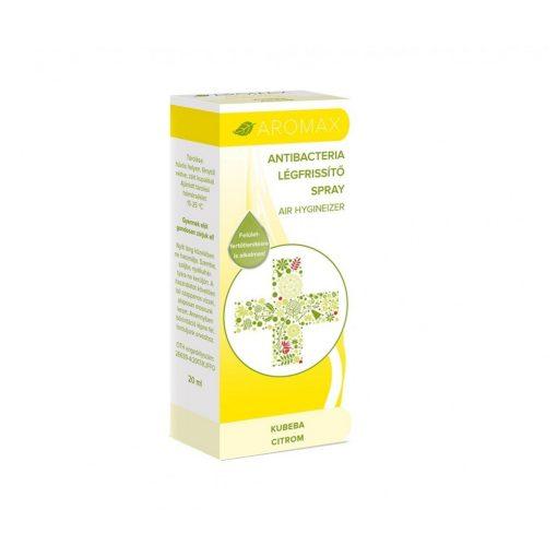 Aromax AntiBacteria Légfrissítő Spray (20 ml) Kubeba- és citromolaj