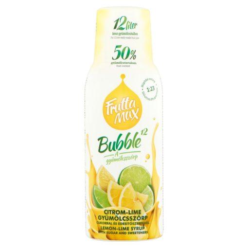 FruttaMax (500ml) Bubble 12 citrom-lime