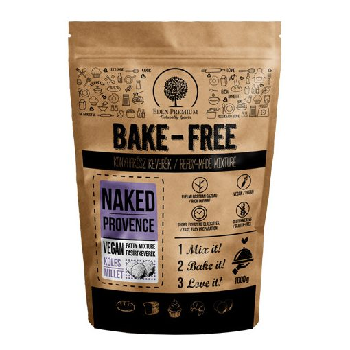 Eden Premium Bake Free Naked Provance fasírt keverék köleses (1000g)