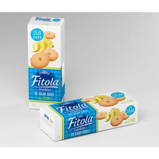 Fitola citromos keksz hozzáadott cukor nélkül (130g)