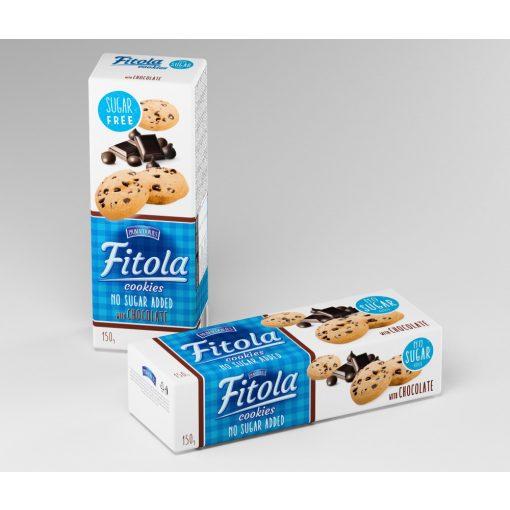 Fitola csokoládés keksz hozzáadott cukor nélkül (150g)