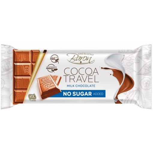 Baron Hozzáadott cukor nélküli Tejcsokoládé (90g)