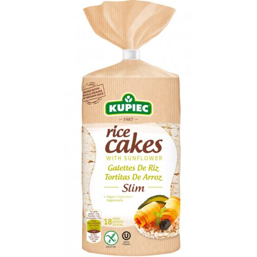 "Kupiec puffasztott rizs napraforgóval ""sovány"" (84 g)"