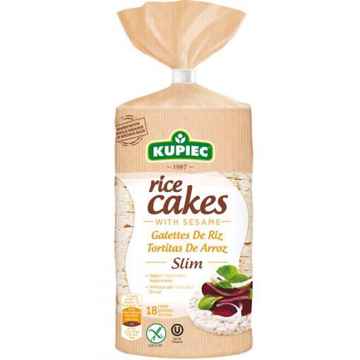 """Kupiec puffasztott rizs szezámmal """"slim"""" (90 g)"""