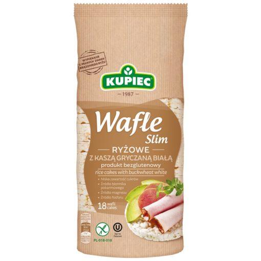 Kupiec puffasztott rizs hajdina fehérjével (90g)