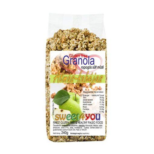 Dia-Wellness Gluténmentes Granola almás-fahéjas