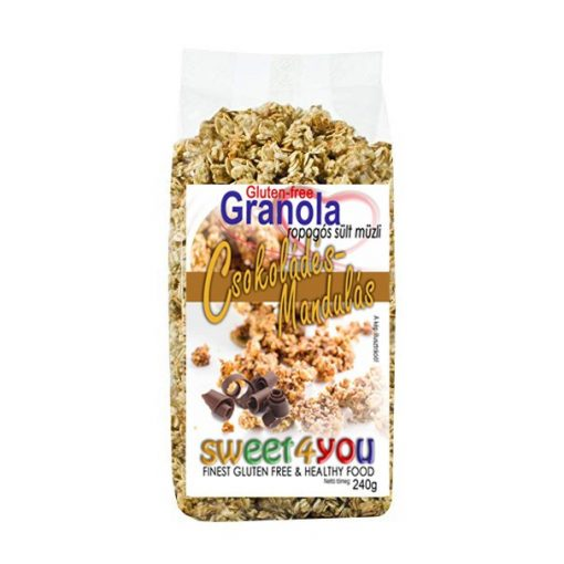 Dia-Wellness Gluténmentes Granola csokis-mandulás