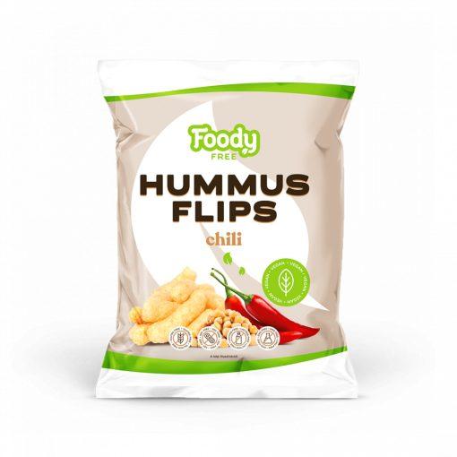 Foody Free hummus flips chili (50g)