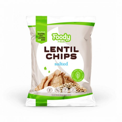 Foody Free lencse chips (50g)