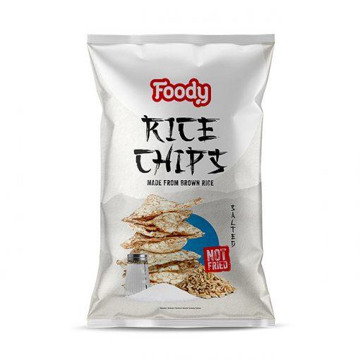 Foody Free rizs chips sós (50g)