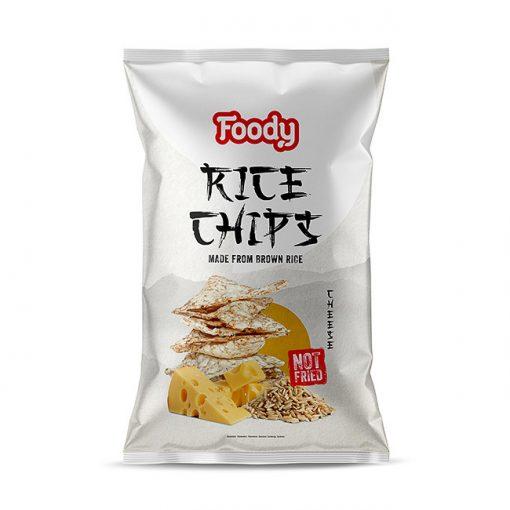 Foody Free rizs chips sajtos (50g)