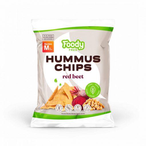 Foody Free hummus chips cékla (50g)