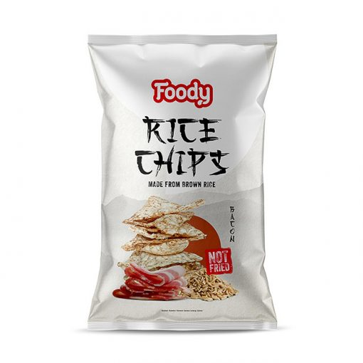 Foody Free rizs chips bacon (50g)
