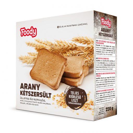 Foody Arany kétszersült teljes kiőrlésű (220g)