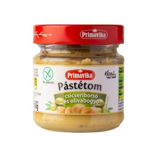 Csicseriborsó pástétom olivával (160 g)