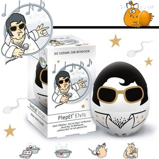 BeepEgg tojásfőző időzítő - Elvis