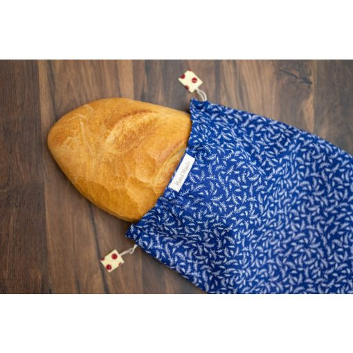 Kézműves kenyereszsák 'Kék'