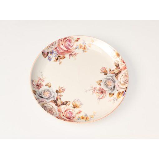 Rózsás tányér